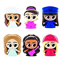 Mash'Ems Fash'Ems - Barbie 4 Pack (4 Blind Capsules Per Order) Squishy Collectible Toy