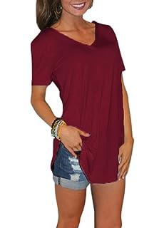 Damen oberteile Größe S M L XL 2XL Gildan Softstyle Damen V–Hals T-Shirt