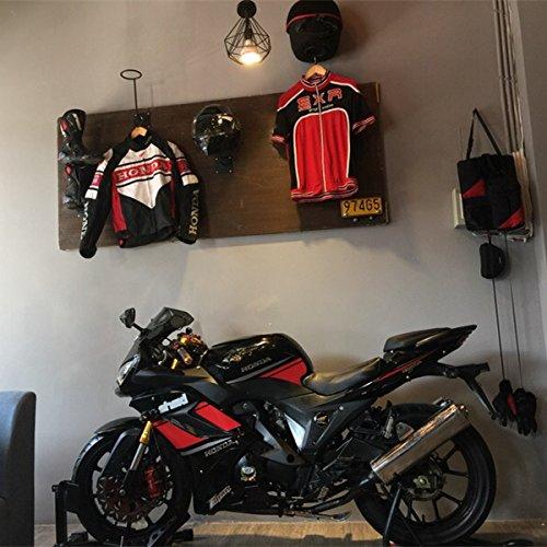ILM Motorcycle Accessories Helmet Holder Hanger Rack Jacket Hook Gifts by ILM (Image #3)