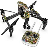 Skin For DJI Inspire 1 Quadcopter Drone – Fish Puzzle | MightySkins Protective, Durable, and Unique Vinyl Decal wrap cover | Easy To Apply, Remove, and Change Styles | Made in the USA