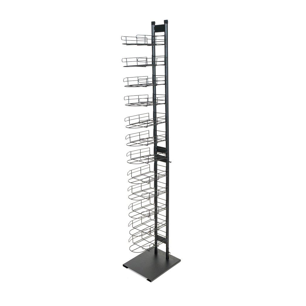 Wire Baseball Cap Display Rack, 12 Tier