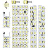 最高級LED使用 明るさ調節可能 20系 ヴェルファイア アルファード 専用設計 SMD LED ルームランプ セット