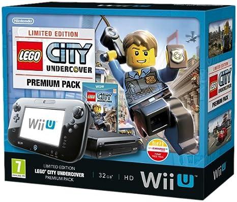 Nintendo Wii U Premium Pack - Lego City - juegos de PC (Wii U, IBM ...