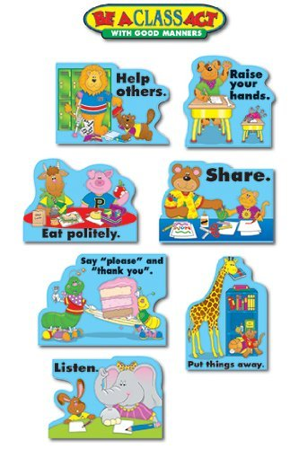 - Good Manners Bulletin Board Cut Out Set by Frank Schaffer Publications/Carson Dellosa Publications