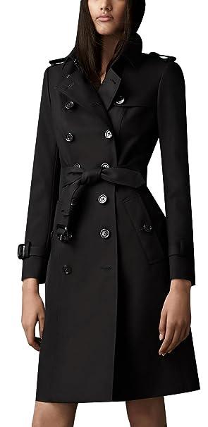 new concept 677ee 801c4 ilishop Women's Elegant Jacket Silm Long Trench Coat
