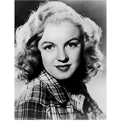 Young Marilyn Monroe Modeling In Plaid Shirt 8 x 10 Photo