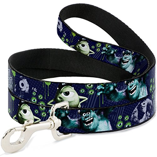 buckle-down-wide-05-monsters-inc-sully-mike-poses-grrrrr-dog-leash-4