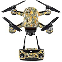 Skin for DJI Spark Mini Drone Combo - Mc2 Blaze| MightySkins Protective, Durable, and Unique Vinyl Decal wrap cover | Easy To Apply, Remove, and Change Styles | Made in the USA