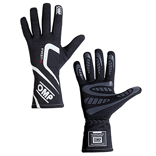 Omp ompib//761E//N//M First-S Gloves Black Size M