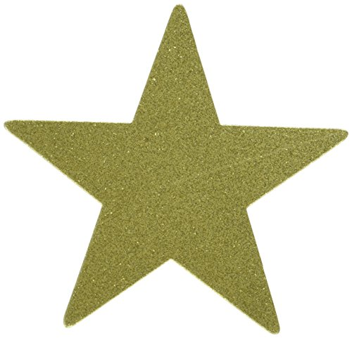 (Amscan Star Cutouts | Gold | Party Decor | 40 Ct.)