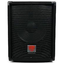 Rockville SBG1128 12-Inch 600 Watt Passive Pro DJ Subwoofer, MDF Cabinet/Pole Mount