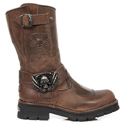 New Rock Men's Biker Boots 9Qe48206
