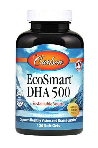 Carlson EcoSmart DHA, Calamari Oil, 500 mg DHA, 120 Soft Gels Review