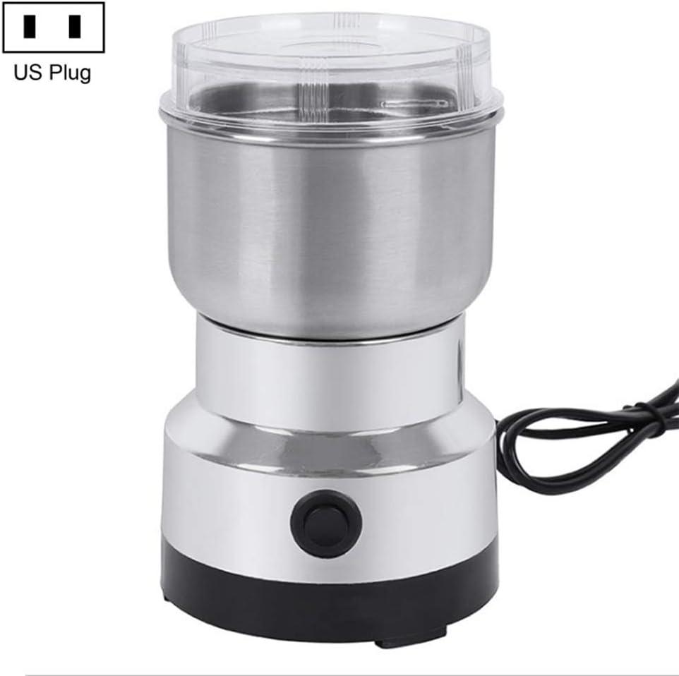 Mrs Bad DIY Multifunctional 150w Electric Coffee Grinder Blender Grinder Stainless Steel For Grinding Herbs, Spices, Nuts, Grains, Coffee Beans