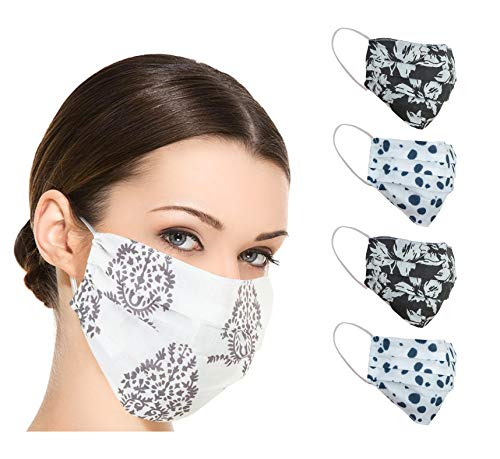 5 Pack Cotton Adult Reusable Face Mask Protection Washable Facial Skin Mouth Nose Shield Breathable Anti Smoke Pollution…