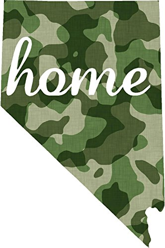 Nevada #2 Home USA military camo print 3.9x5.6 inches america united states marine us coast guard navy seals air force pow mia color sticker state decal vinyl - Made and Shipped in USA