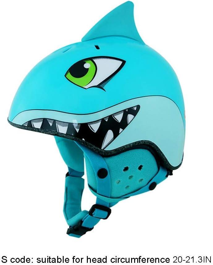 Miss You Casco de esquí Realista Shark - Deportes al Aire ...