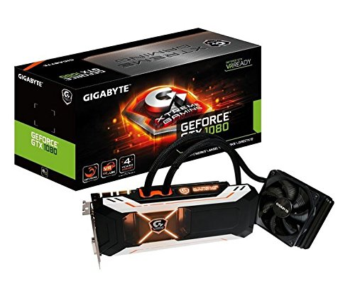 Gigabyte GeForce GTX 1080 XTREME Gaming Water Cooling Video Card (GV-N1080XTREME