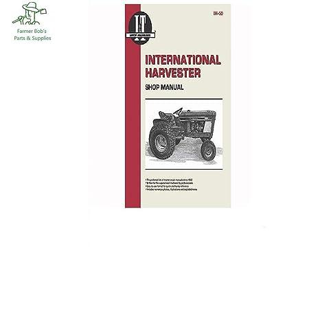 amazon com: i&t shop manual farmall cub, int  lo-boy, 154, 184, 185 lo-boy,  farmer bob's parts ih50: home improvement