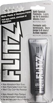 Flitz CA 03518-12A-12PK Metal, Plastic and Fiberglass Polish Paste, 2.0 lb. Quart Can, 12-Pack