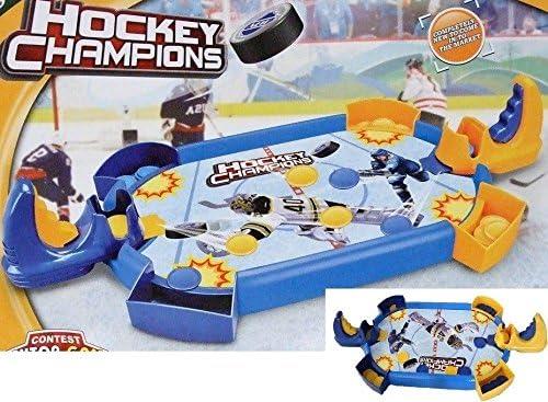 Allkindathings New Kids Deluxe Mini Mesa de Hockey sobre Hielo para niños Juguete Familia Divertido Juego: Amazon.es: Juguetes y juegos