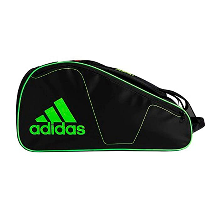 adidas PALETERO Racket Bag Tour Negro Verde: Amazon.es: Deportes y ...