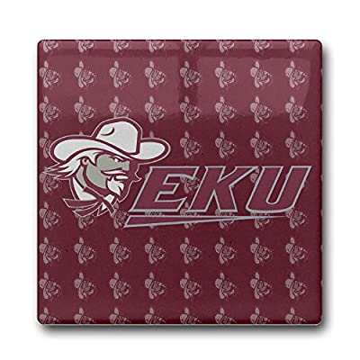 Eastern Kentucky Colonels Coasters Cork Pat Mat