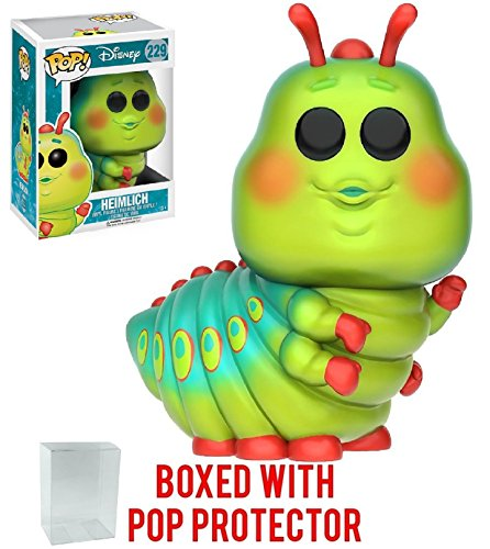 Funko Pop! Disney Pixar: A Bug's Life - Heimlich Vinyl Figure (Bundled with Pop Box Protector Case)