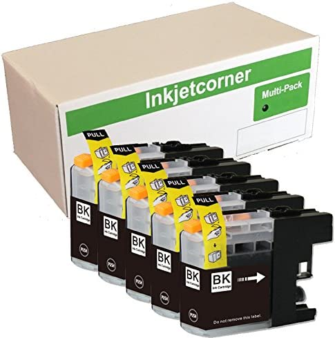 8-Pack Inkjetcorner Compatible Ink Cartridges Replacement for LC203 LC203XL BLC203 for use with MFC-J460DW MFC-J480DW MFC-J485DW MFC-J680DW MFC-J880DW MFC-J885DW