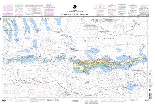 NOAA Chart 11453: Florida Keys Grassy Key to Bahia Honda Key