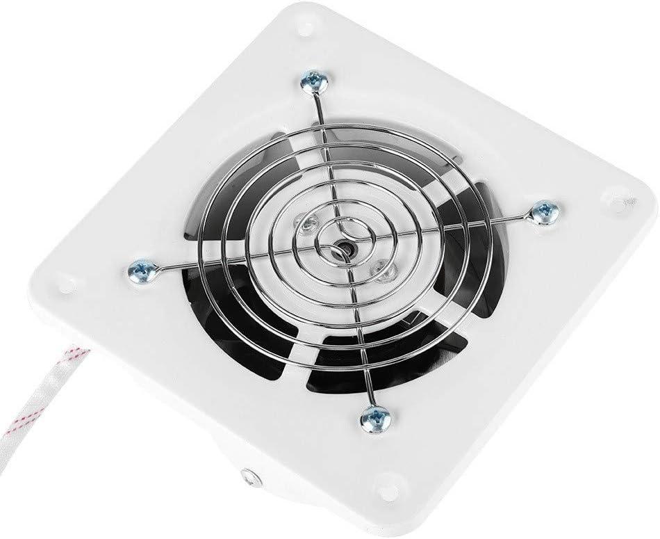 Ventilazione del Garage Eastbuy Ventilatore estrattore per Bagno Cucina del Bagno di casa a Basso Rumore Ventilatore di Scarico a Parete 25W 220V