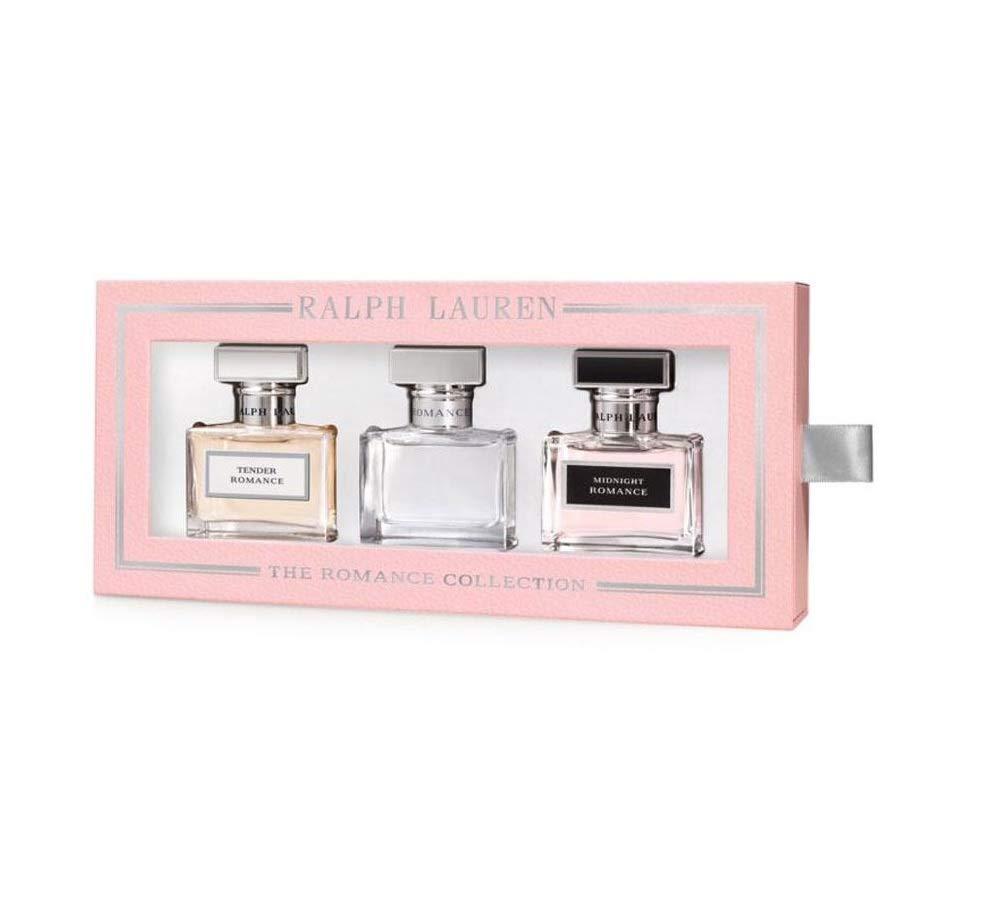 The Romance Collection Ralph Lauren Eau de Parfum Spray Set: Romance + Midnight Romance + Tender Romance $168 VALUE