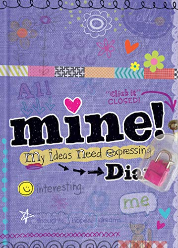 Mine Diary - Sparkly Lock & Keys - Girls 8+ - Illustrated Activities (All About Me Crafts For School Age)
