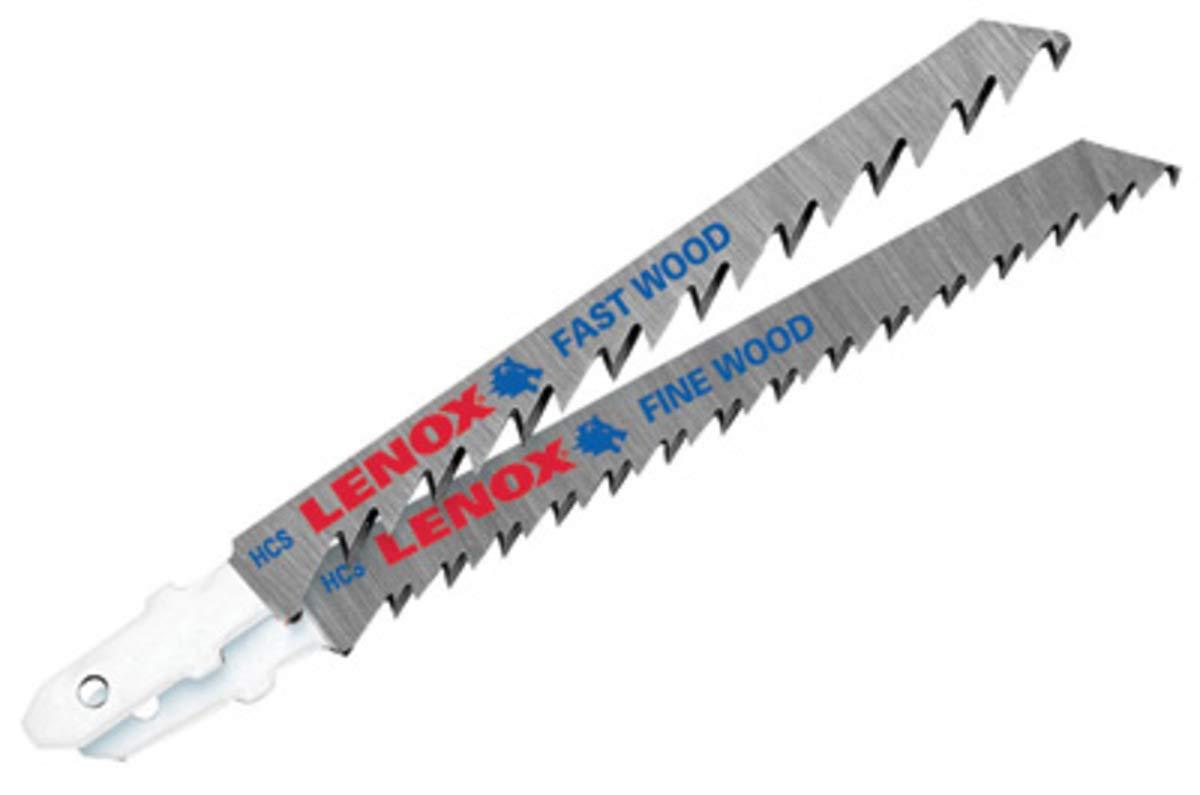 4'' X 5/16'' X .058'' Lenox Jig Saw Blade With Down Cut 10 Teeth Per Inch (25 Per Pack) - 25 Each