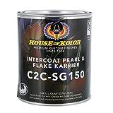 House of Kolor SG150 Intercoat Pearl & Flake Karrier Clearcoat Low VOC, Quart