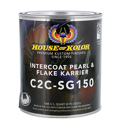 - House of Kolor SG150 Intercoat Pearl & Flake Karrier Clearcoat Low VOC, Quart