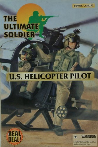 (21st Century Toys Ultimate Soldier U.S. Helicopter Pilot 12 Action Figure)