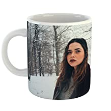 Westlake Art - Flora Girl - 15oz Coffee Cup Mug - Modern Picture Photography Artwork Home Office Birthday Gift - 15 Ounce