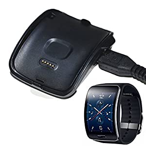 Aobiny Charger Charging Cradle Dock Charger for Samsung Gear S Smart Watch SM-R750