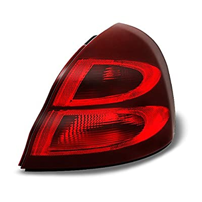 For Pontiac Grand Prix Red Clear Rear Tail Light Tail Lamp Brake Lamp Passenger Right Side Replacement: Automotive