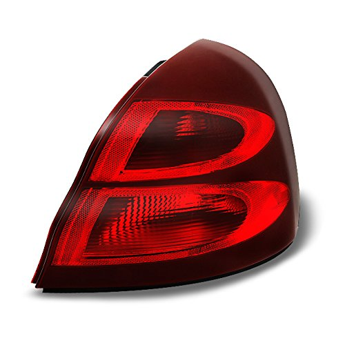 Pontiac Grand Prix Red Clear Rear Tail Light Tail Lamp Brake Lamp Passenger Right Side Replacement