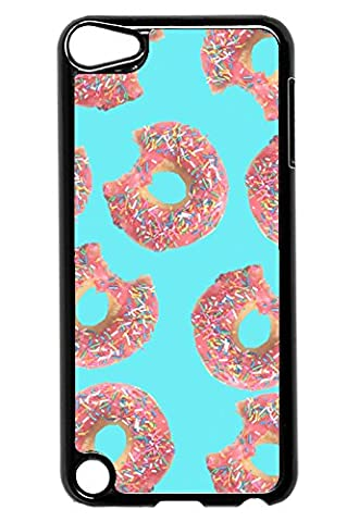 Donut Doughnut Pattern - iPod Touch 5 Case - For iPod Touch 5/5G (5th Generation) - Designer Plastic Snap On (Ipod 5th Generation With Holster)