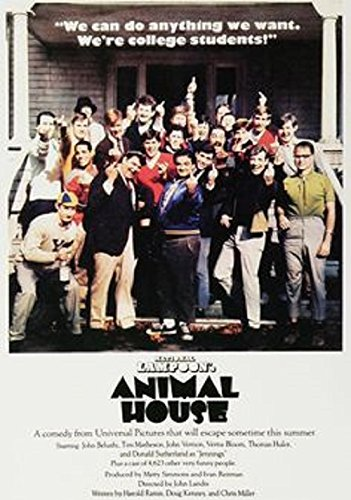 Animal House Cast - The Finger Poster