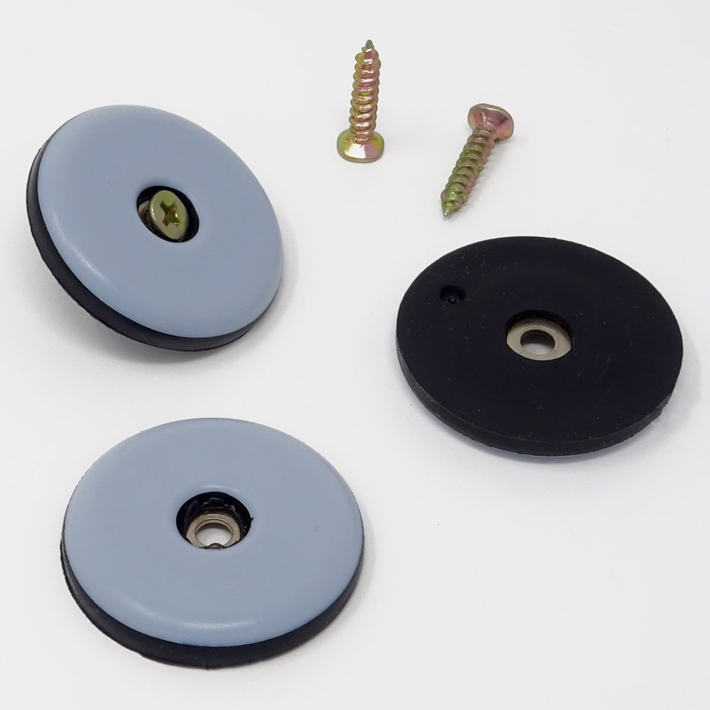SBS Teflongleiter M/öbelgleiter mit Schraube /ø 50mm 16 St/ück