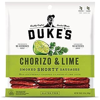 Duke's Chorizo & Lime Pork Sausages, 16 Ounce