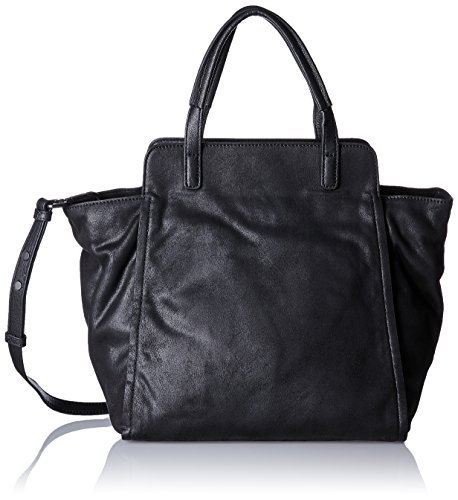 T Marc Twenty Cm H b Schwarz black Mujer Bolsos Hombro 16x45x41 Shoppers X De O'polo Y UUqrwZ5