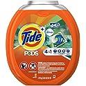 61 Count Tide PODS w/ Febreze Botanical Rain Liquid Laundry Detergent Pods