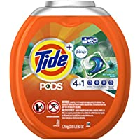 61-Count Tide PODS Plus Febreze Botanical Rain Liquid Laundry Detergent Pods