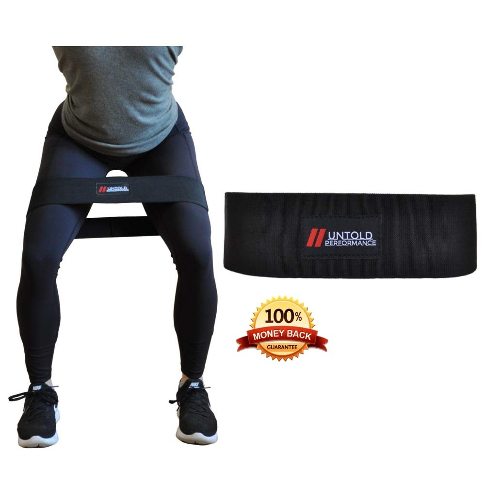 High Resistance Glute Bands | Build and Activate your Glutes with our Booty Bands | Weightlifting, Bodybuilding, Powerlifting, Cross Fit Training, and Yoga for Men and Women by Untold Performance (Image #1)