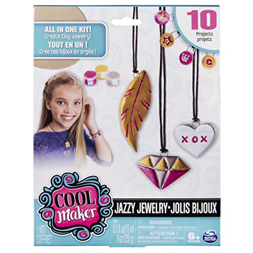 Cool Maker – Jazzy Jewelry Clay Bracelets & Necklaces (Clay Maker)